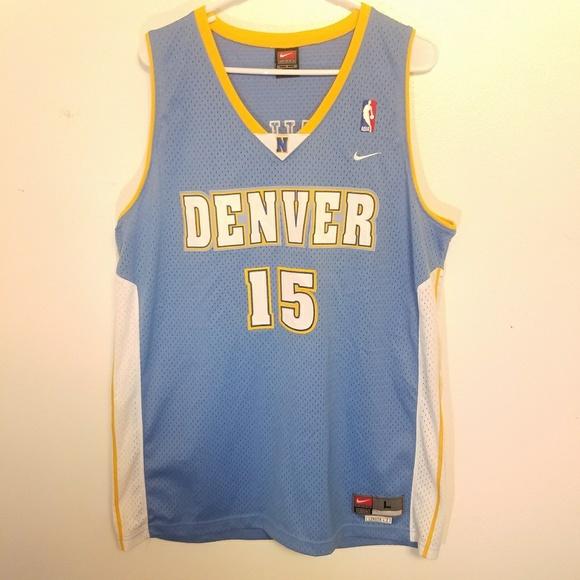 9e2a4ae7d Nike Shirts | Vintage Denver Nuggets Carmelo Anthony Jersey | Poshmark